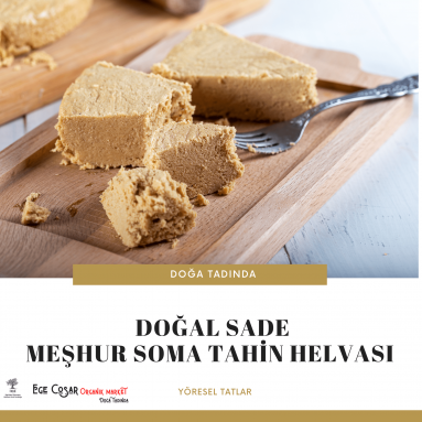 MEŞHUR SOMA TAHİN HELVASI (SADE) 1 KG