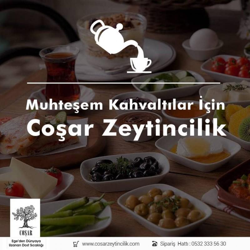 Coşar Zeytin (S) 291-320 Süper 2 Kg Gemlik Trilya Siyah Zeytin
